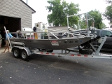 MDNR R/V Mooneye shock research boat