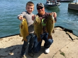 Mark Goetsch and son with some quality smallmout bass 2017 National Semi-Final