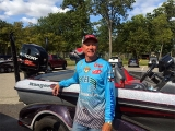 Randy Ramsey stands by his Ranger Boat 2017 National Semi-Final