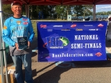 Randy Ramsey with 3rd place plaque 2017 National Semi-Final