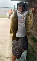 Scott Tyrell with 2 big bass