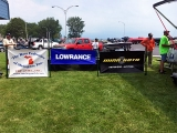TBF of Michigan and sponsor signs