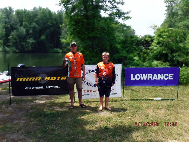 The Bass Federation of Michigan Junior State Championship June 17, 2018 Pontiac Lake-dscf0122