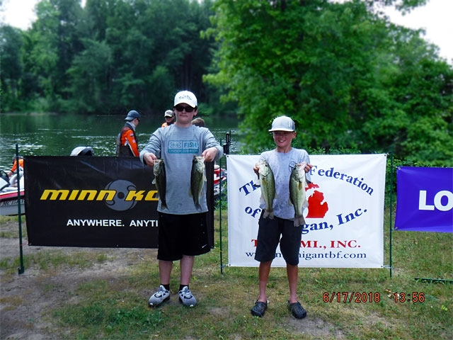 The Bass Federation of Michigan Junior State Championship June 17, 2018 Pontiac Lake-dscf0127