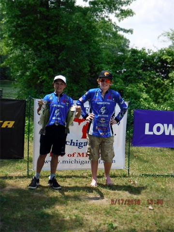 The Bass Federation of Michigan Junior State Championship June 17, 2018 Pontiac Lake-dscf0128