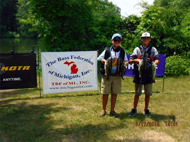 The Bass Federation of Michigan Junior State Championship June 17, 2018 Pontiac Lake-dscf0130
