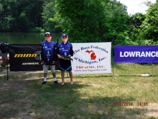 The Bass Federation of Michigan Junior State Championship June 17, 2018 Pontiac Lake-dscf0131