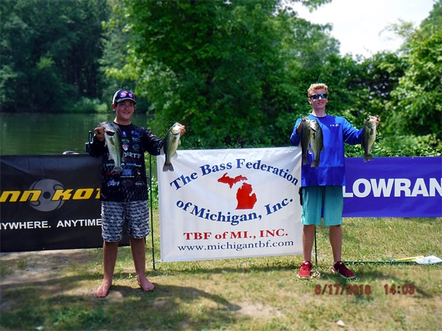 The Bass Federation of Michigan Junior State Championship June 17, 2018 Pontiac Lake-dscf0133