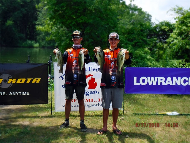The Bass Federation of Michigan Junior State Championship June 17, 2018 Pontiac Lake-dscf0134