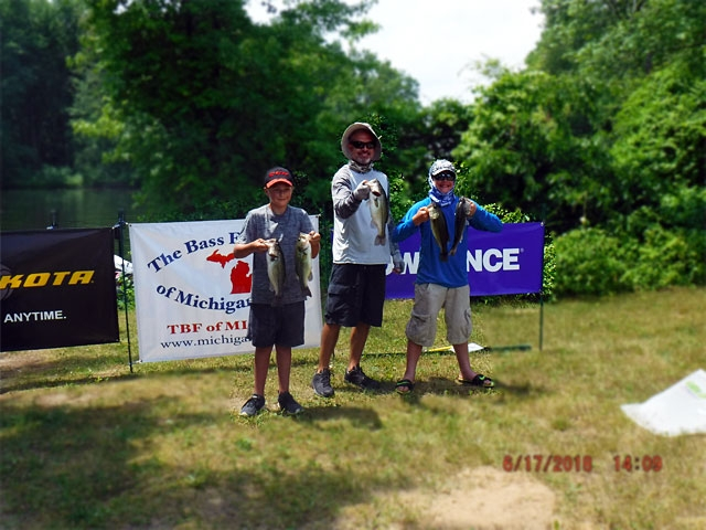 The Bass Federation of Michigan Junior State Championship June 17, 2018 Pontiac Lake-dscf0137