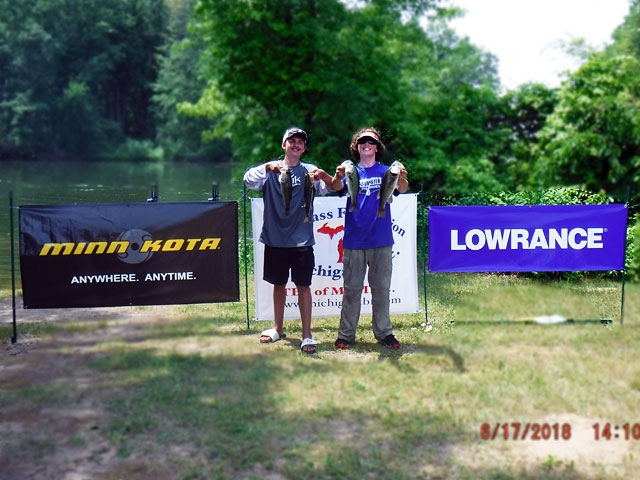 The Bass Federation of Michigan Junior State Championship June 17, 2018 Pontiac Lake-dscf0139