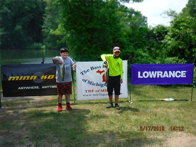 The Bass Federation of Michigan Junior State Championship June 17, 2018 Pontiac Lake-dscf0140