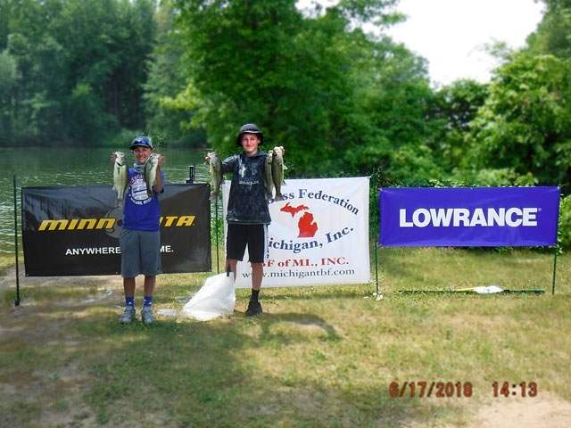 The Bass Federation of Michigan Junior State Championship June 17, 2018 Pontiac Lake-dscf0142