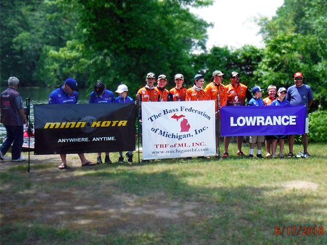 The Bass Federation of Michigan Junior State Championship June 17, 2018 Pontiac Lake-dscf0143