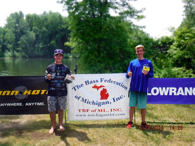 The Bass Federation of Michigan Junior State Championship June 17, 2018 Pontiac Lake-dscf0149