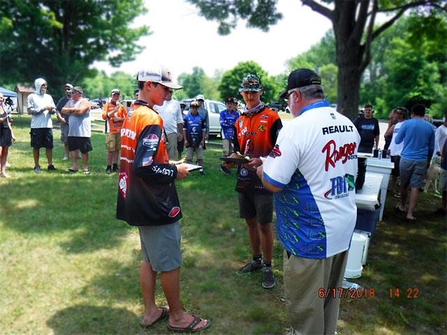 The Bass Federation of Michigan Junior State Championship June 17, 2018 Pontiac Lake-dscf0154
