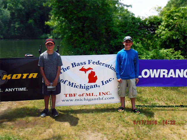 The Bass Federation of Michigan Junior State Championship June 17, 2018 Pontiac Lake-dscf0155