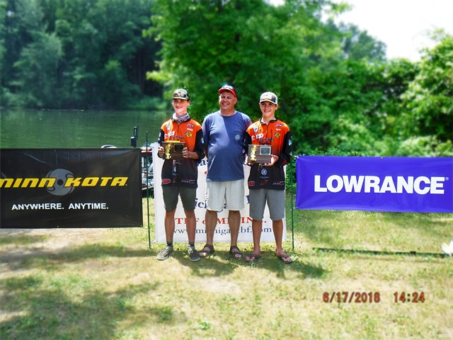The Bass Federation of Michigan Junior State Championship June 17, 2018 Pontiac Lake-dscf0160