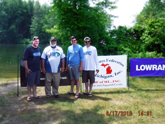 The Bass Federation of Michigan Junior State Championship June 17, 2018 Pontiac Lake-dscf0163