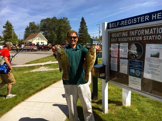 The Bass Federation of Michigan 2018 State Championship - 2nd place boater Josh Kolodzaike