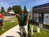 The Bass Federation of Michigan 2018 State Championship - 2nd place boater Josh Kolodzaike
