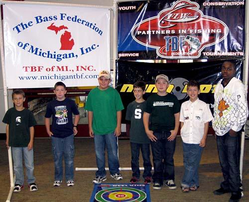 2009 TBF of Michigan Reel Kids Casting state qualifiers