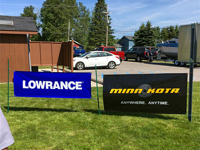 Please remember to consider the sponsors who help TBF of Michigan be successful such as Lowrance and Minn Kota.