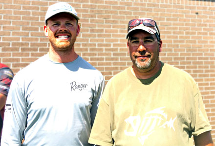 2019 The Bass Federation of Michigan State Champions boater Troy Stokes and co-angler Chris Majerle from July 14 State Championship on Lake St. Clair